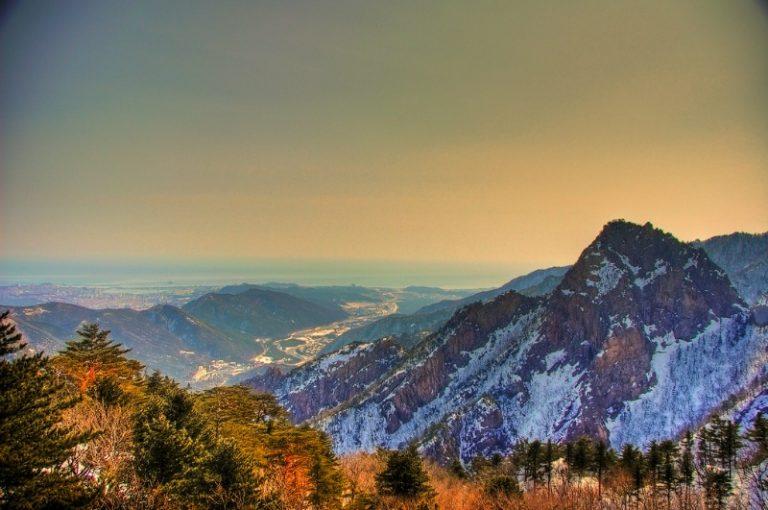 Vườn Quốc gia Seoraksan – Gangwondo – Hàn Quốc