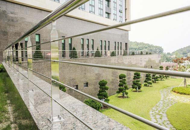 Một góc khuôn viên của trường Đại học Baekseok University