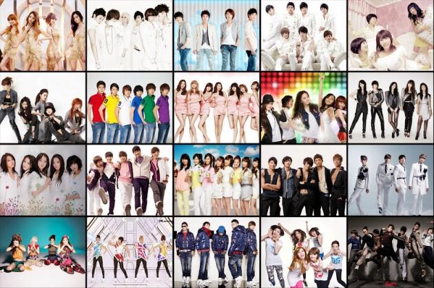 Một số nhóm nhạc thuộc thế hệ thứ 2 nổi tiếng của K-pop có thể kể tới Boa, Bi-Rain, DBSK, Big Bang, SNSD, 2NE1,...