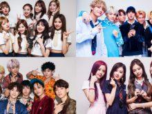 TWICE, EXO, BLACKPINK và BTS là những nhóm nhạc K-pop mới và nổi tiếng nhất hiện nay