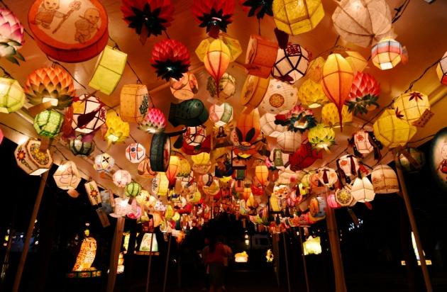 Lễ hội Đèn lồng Hoa sen ở Seoul