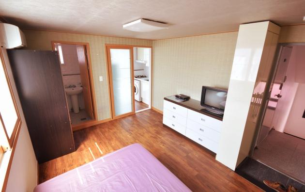 Một trong những hình ảnh mẫu về căn hộ ở Hàn Quốc