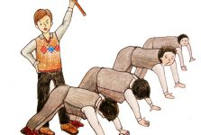 Hình phạt Thân thể khá phổ biến trong môi trường giáo dục của Hàn Quốc