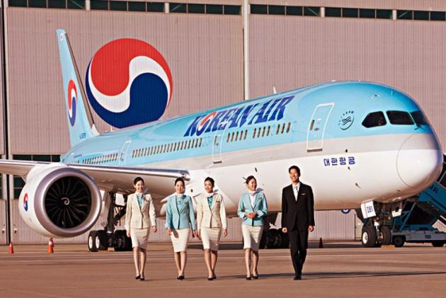 Để bay sang Hàn Quốc, Korean Air là một trong những hãng hàng không có đường bay thẳng