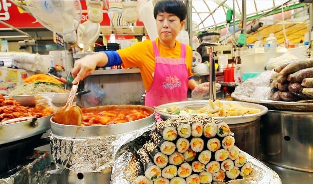 Hàn Quốc luôn nổi tiếng với nền Ẩm thực Đường phố đa dạng
