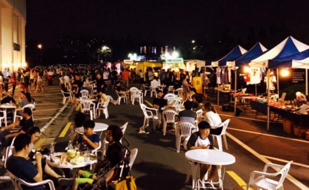 Chợ đêm Sân vận động Mokdong