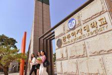 Các chương trình học của Trường Đại học nữ Kwangju rất đa dạng