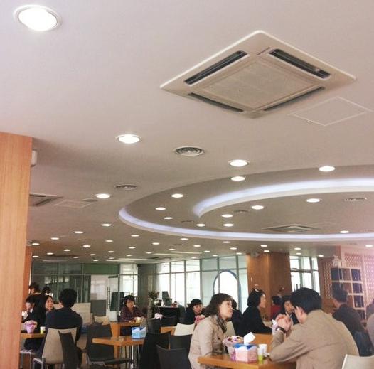Cơ sở vật chất hiện đại bên trong Trường Đại học Nữ sinh Sungshin