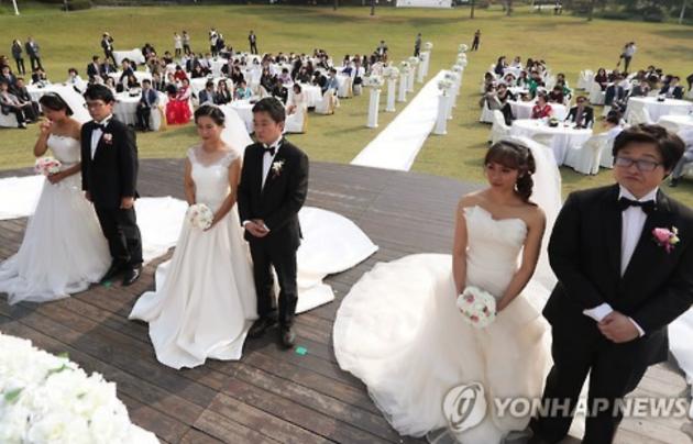 Càng ngày càng có nhiều cô dâu Việt sang Hàn Quốc sinh sống