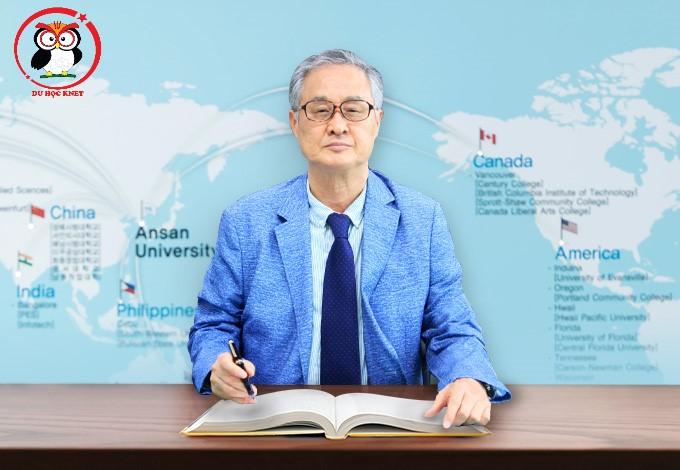 Chủ tịch hội đồng quản trị trường Sunggye Oh - ĐH Ansan