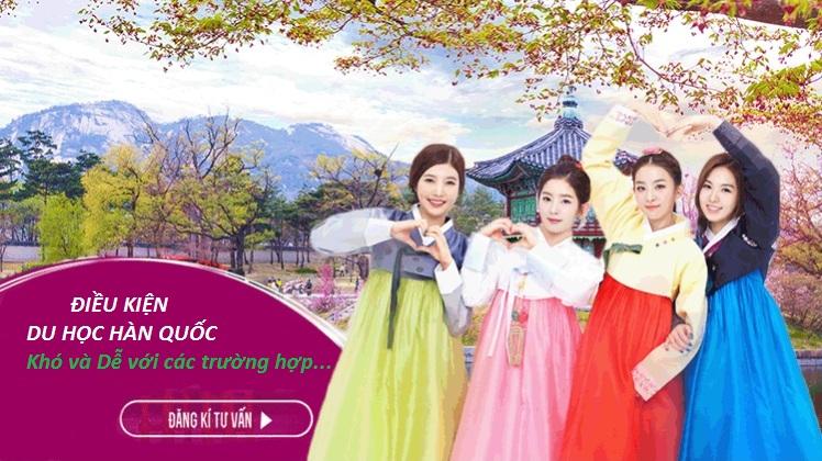 Điều kiện du học Hàn Quốc mới nhất