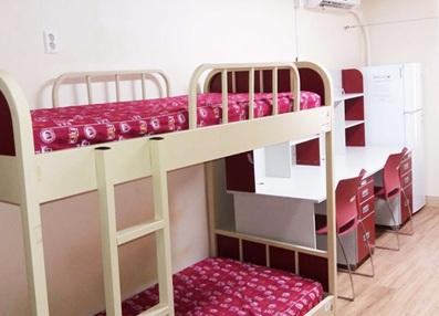 Hình ảnh 1: Giường ngủ trong các phòng tại ký túc xá Đại học Kyungil