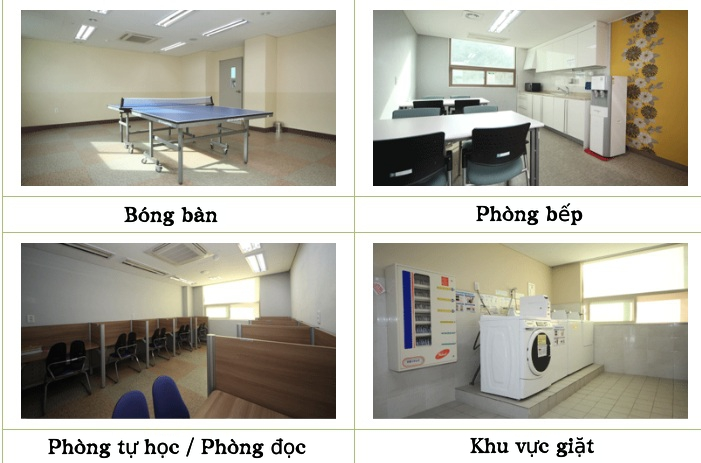 Hình ảnh về khu nội trú của trường Đại học Tongmyong (2)