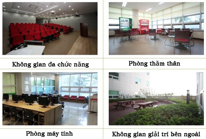 Hình ảnh về khu nội trú của trường Đại học Tongmyong (3)