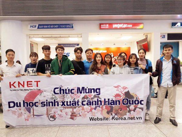 Du học sinh của Knet đi du học Hàn Quốc