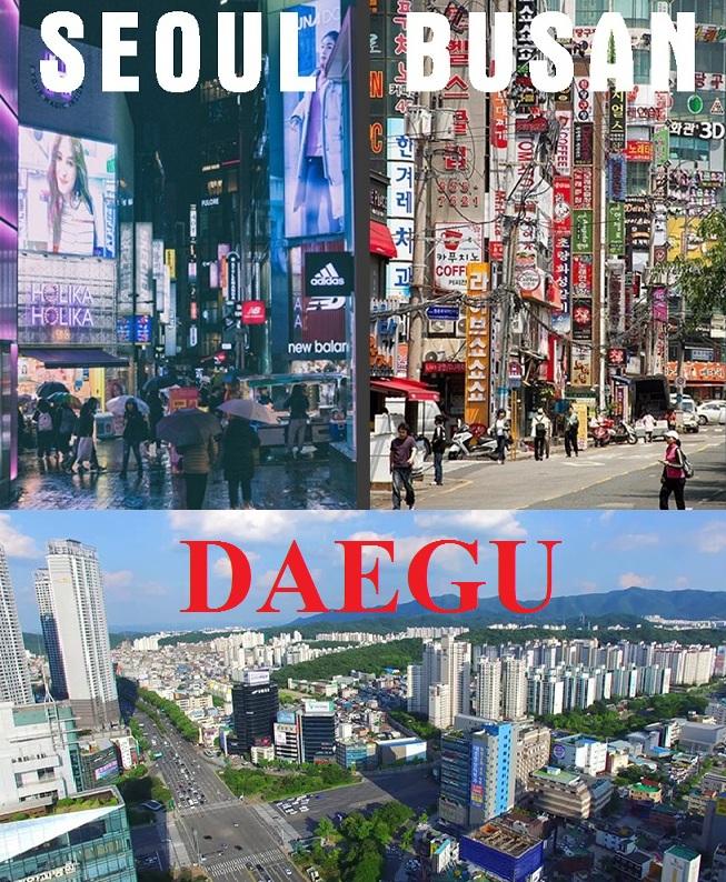 giá cả và chi phí sinh hoạt ở Seoul - Busan - Daegu
