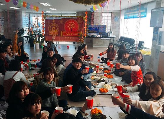Đến học tập tại Hàn vào tháng 12 vì muốn được đón tết