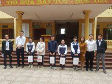 Lễ trao tặng học bổng của Knet tại trường trung học cơ sở Xuân Mai - Hà Nội