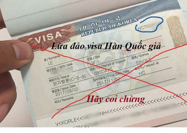 Rất nhiều người bị rơi vào vòng xoáy lừa đảo visa Hàn Quốc giả lên đến 200 triệu