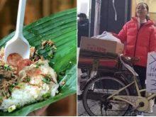 Với chiếc xe đạp quen thuộc, ẩm thực đường phố Việt đã xuất hiện ở Hàn Quốc với bảng ghi xôi khúc cả tiếng Việt lẫn tiếng Hàn