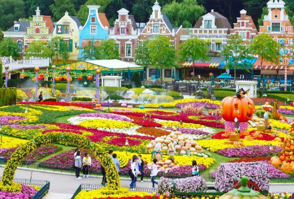Công viên Everland là 1 địa điểm du lịch Hàn Quốc trông dịp tết không thể bỏ qua