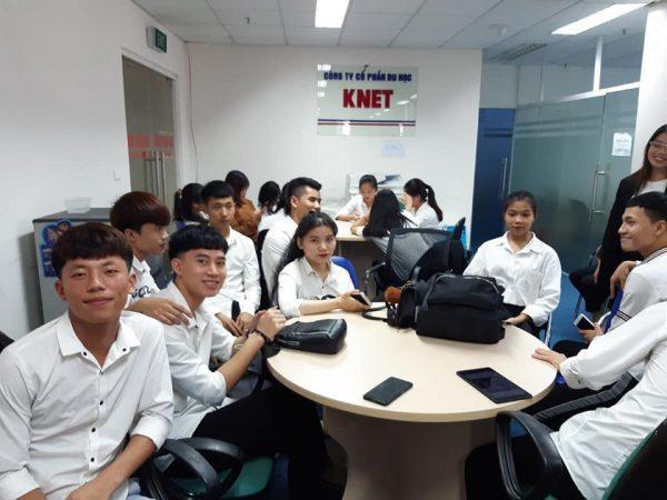 Học sinh Knet trong ngày phỏng vấn