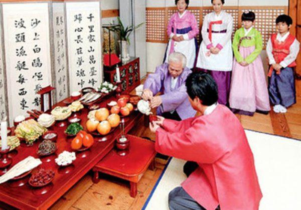 Nghi thức đón tết âm lịch của người Hàn Quốc
