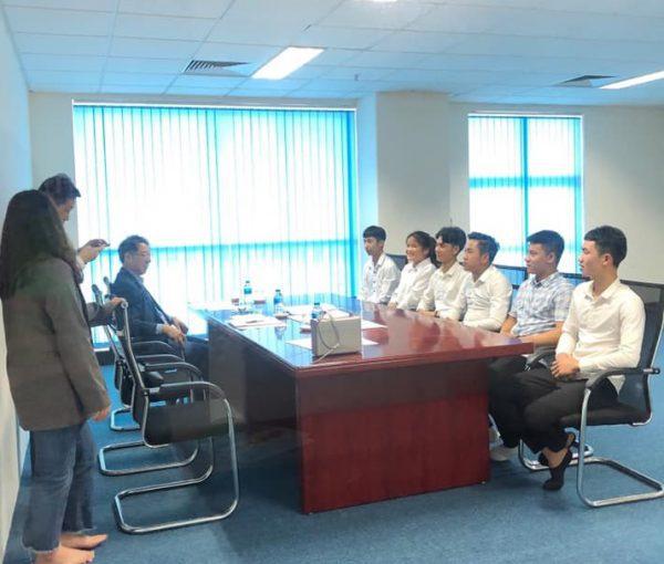 Phỏng vấn của học sinh Knet với giáo sư Hàn Quốc