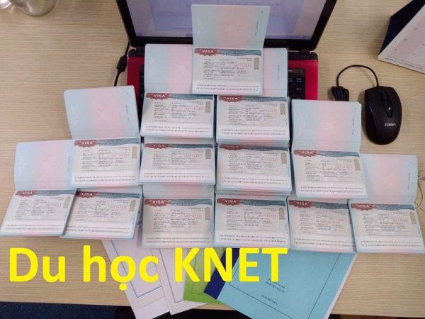 Đăng ký nộp hồ sơ du học Hàn Quốc tại Knet, các bạn sẽ nhanh chóng nhận được visa