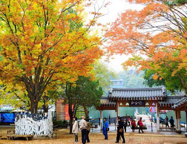 Du lịch Hàn Quốc tháng 2