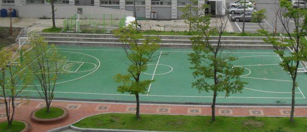 Khuôn viên của Hankyong National University