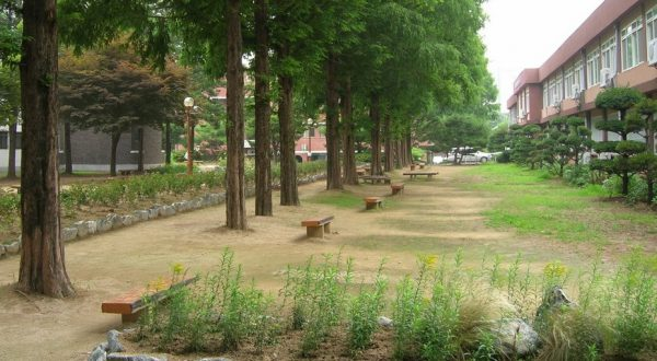 Khuôn viên của trường đại học quốc gia duy nhất tại tỉnh Gyeonggi