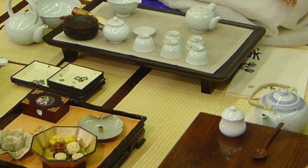 Từ thời Triều Tiên, dâng trà là một trong những nghi lễ bắt buộc