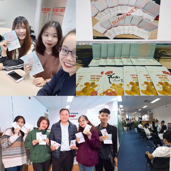 Visa du học Hàn về liên tục với Du học Knet - korea.net.vn