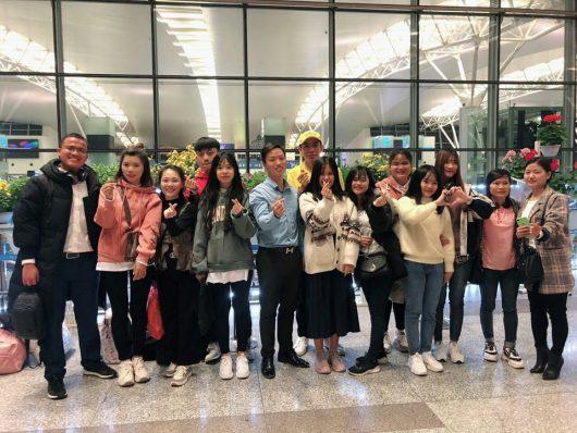 Du học sinh Knet xuất cảnh sang Hàn Quốc học tập