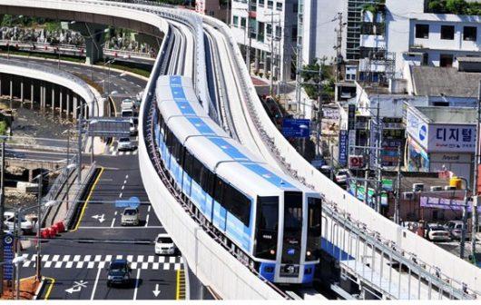 Hệ thống giao thông tại Hàn Quốc hiện đại và hoạt động liên tục xuyên suốt cả ngày lẫn đêm