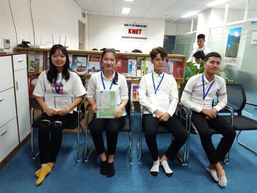 Học sinh tại Knet nhận được visa du học Hàn