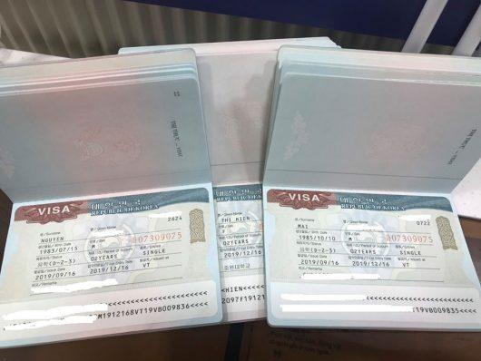 Visa du học Hàn Quốc của học sinh Knet vẫn về đều nhé