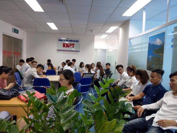 ngày hội tuyển sinh du học Hàn Quốc tại Knet