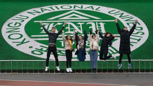 Niềm vui của học sinh Knet khi nhập học thành công