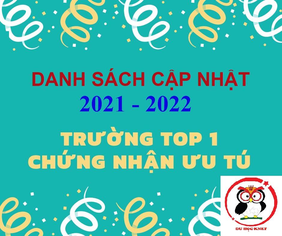 Trường top 1 hàn quốc 2021