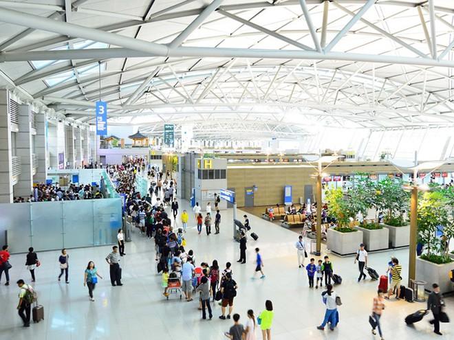 Sân bay quốc tế Incheon ở Seoul, Hàn Quốc - Ảnh: AFP
