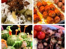 Món ăn ở Chợ Bupyeong