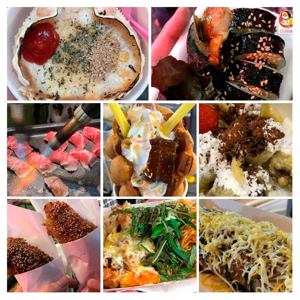 Món ăn vặt ngon ở trong khu chợ