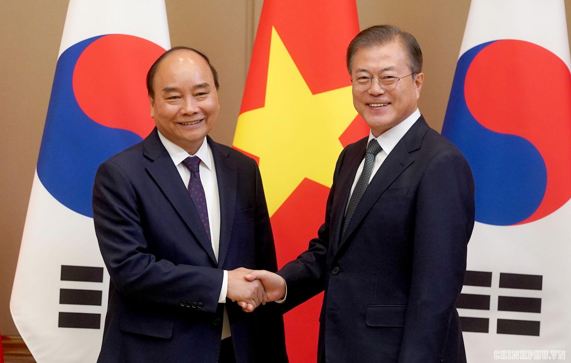 Việt Nam Coi trọng quan hệ Đối tác hợp tác chiến lược Việt Nam-Hàn Quốc