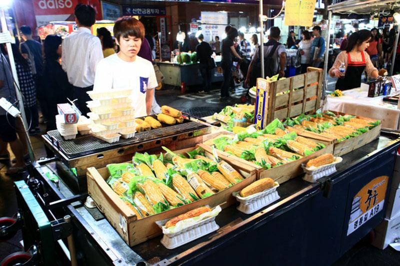 Bắp nướng được ưa chuộng nhất Hàn Quốc