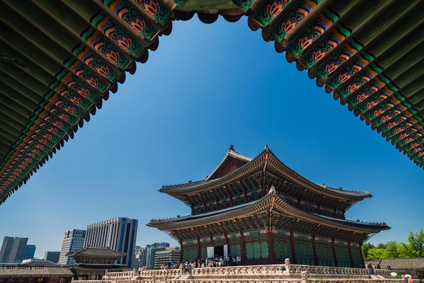 Cung điện Gyeongbokgung ( Hàn Quốc)