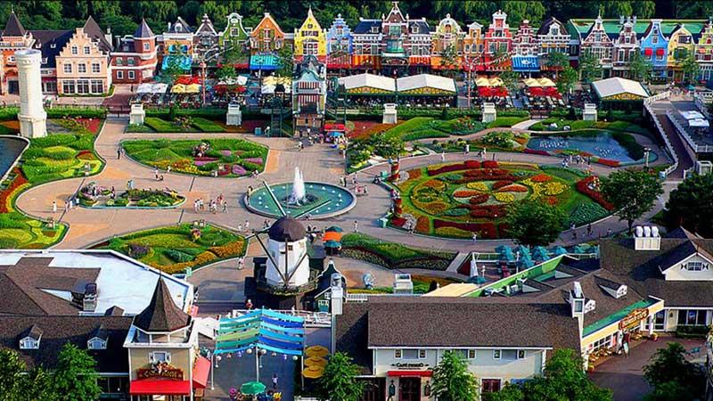 Khám phá cả thế giới tại Công viên Everland Hàn Quốc