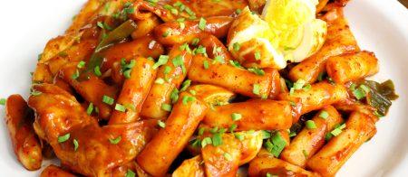 Tteokbokki món ăn đường phố số 1 Hàn Quốc