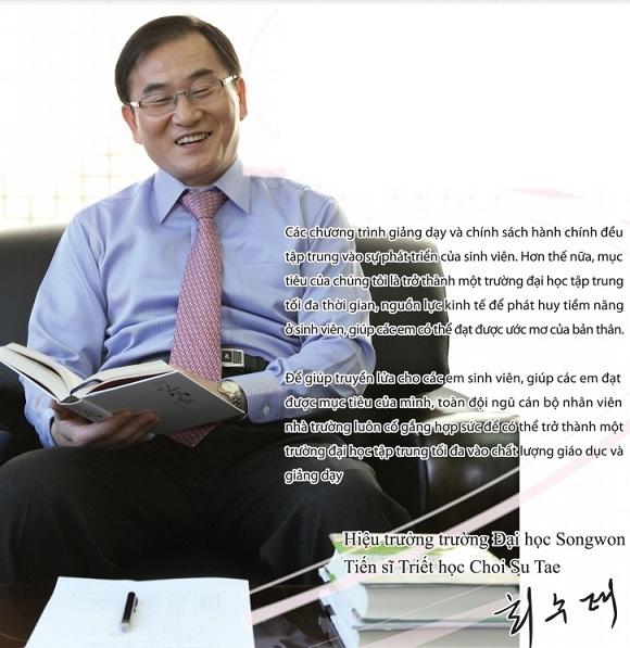 hiệu trưởng trường Songwong